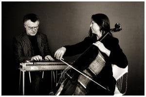 B J Cole and Emily Burridge - pedal steel guitar and cello @ Wymondham Abbey, Church Street   Wymondham   United Kingdom