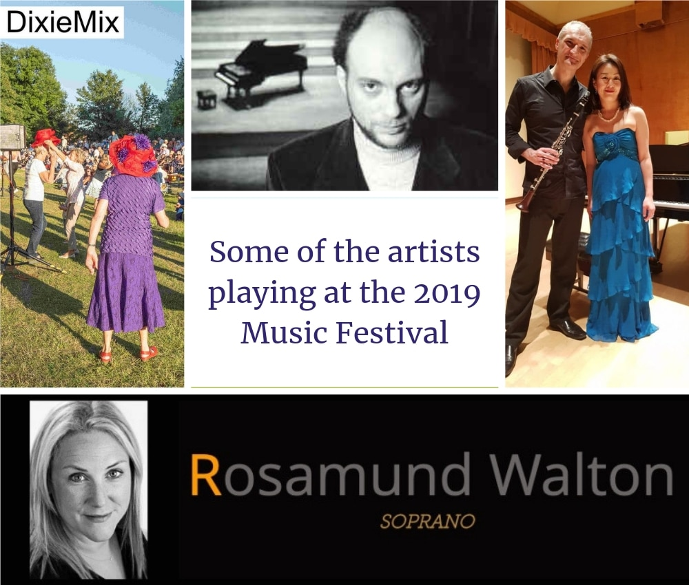 2019 Wymondham Music Festival Key artists